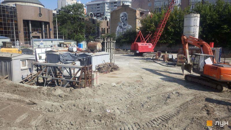 Хід будівництва ЖК А136 Highlight Tower, , липень 2019