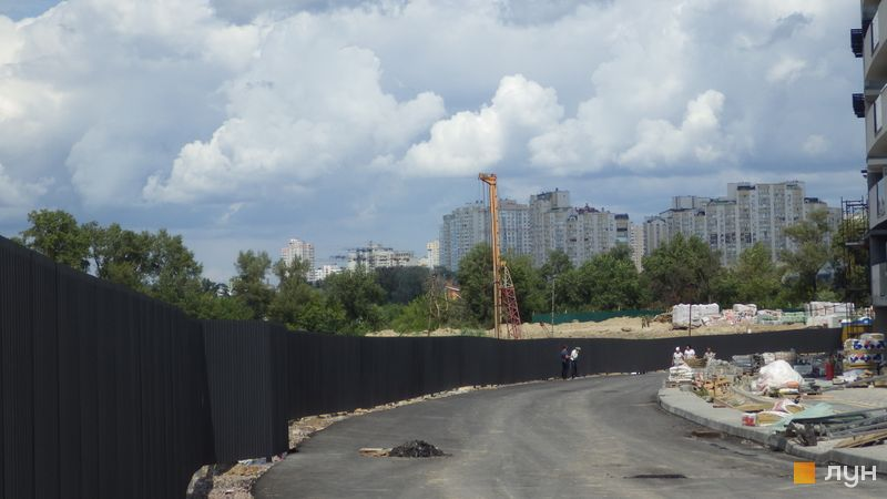 Ход строительства ЖК Заречный, , июль 2019
