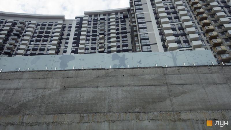Ход строительства ЖК Заречный, 6 дом (секция 5), июль 2019