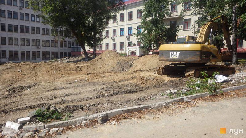 Хід будівництва ЖК Голосіївський, , липень 2019