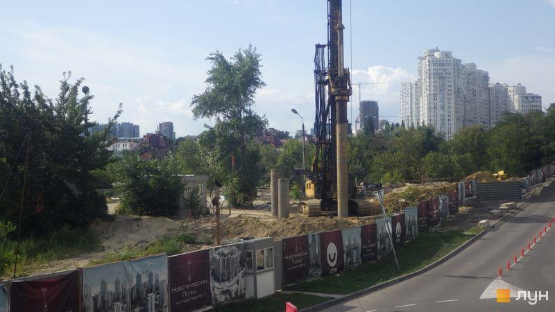 Хід будівництва ЖК Новопечерські Липки, , липень 2019