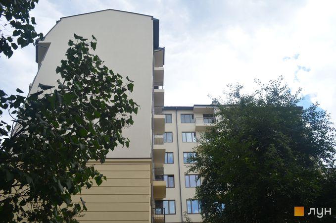 Хід будівництва вул. Івана Карпинця / вул. Генерала Засядька, Будинок, липень 2019