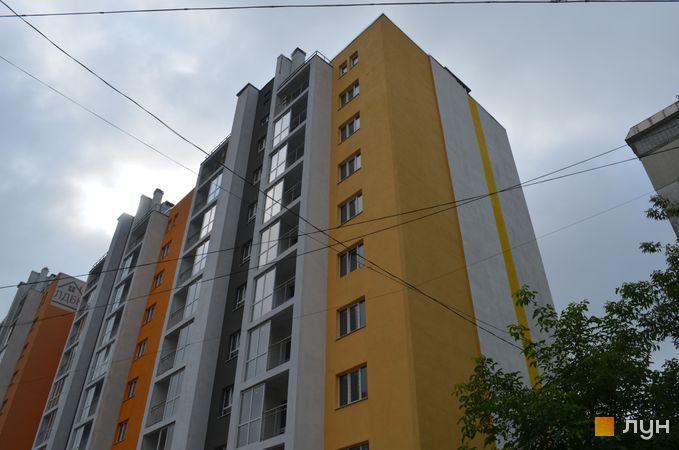 Ход строительства ул. Багалия, 5, 5а, 2-3 секции, июль 2019