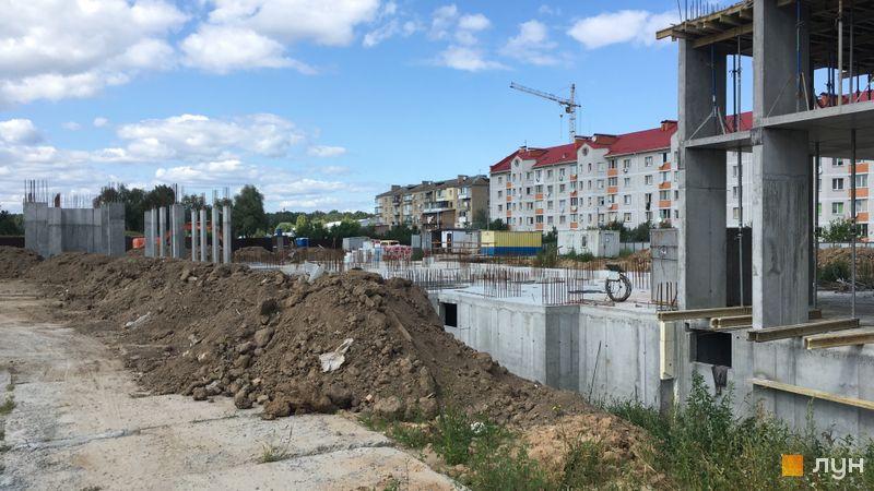 Ход строительства ЖК Новые Теремки, 4 очередь (дома 15-16), август 2019