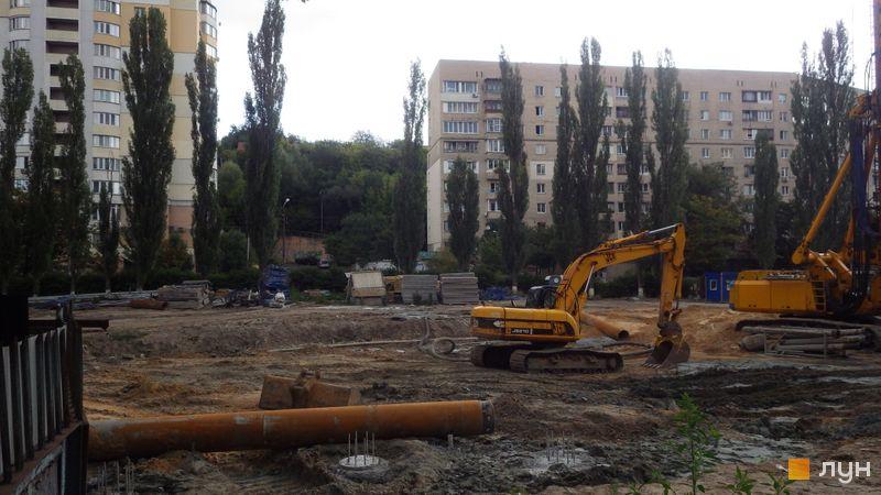 Хід будівництва ЖК CITY HUB, , серпень 2019