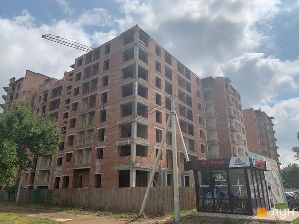 Ход строительства ЖК Квартал Галицкий, , август 2019