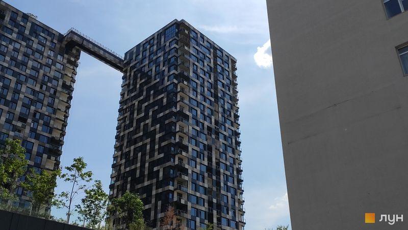 Хід будівництва ЖК Tetris Hall, 2 будинок (секція А), серпень 2019