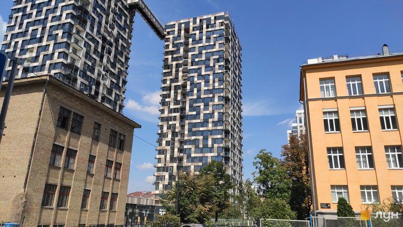 Хід будівництва ЖК Tetris Hall, 2 будинок (секція Б), серпень 2019
