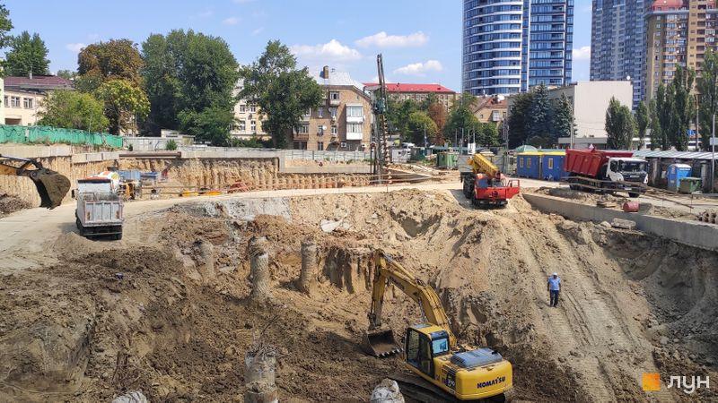 Хід будівництва ЖК Diadans, , серпень 2019