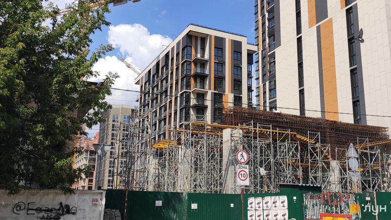 Ход строительства ЖК Французский квартал 2, 10 дом, август 2019