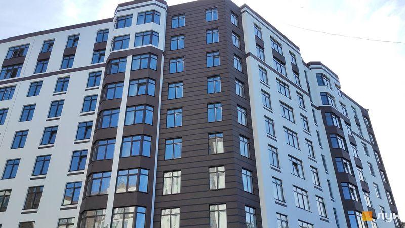 Ход строительства ЖК Пражский квартал 2, 2 дом (секция 1), август 2019