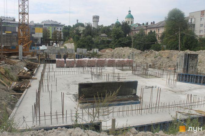 Ход строительства ЖК Семицвет, 10 дом (секции 1-2), август 2019