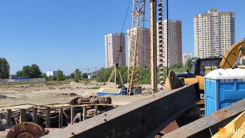Хід будівництва ЖК Ревуцький, , серпень 2019