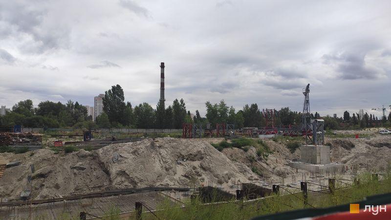 Ход строительства ЖК Причал 8, , август 2019