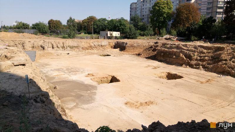 Ход строительства Місто Квітів. Парковий квартал, , август 2019