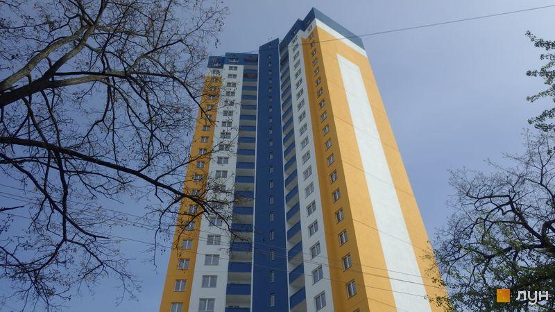 Ход строительства ул. Межевая, 23б, Дом, апрель 2016