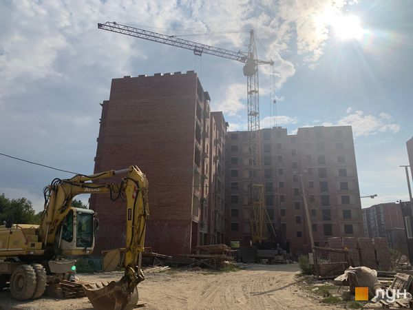 Ход строительства ЖК Квартал Галицкий, , сентябрь 2019