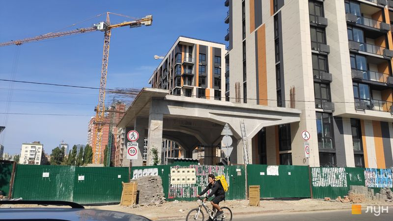 Ход строительства ЖК Французский квартал 2, 10 дом, сентябрь 2019