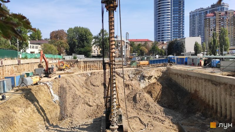Хід будівництва ЖК Diadans, , вересень 2019