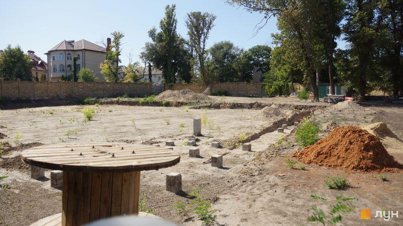 Ход строительства Клубный дом «Сапфир», , сентябрь 2019