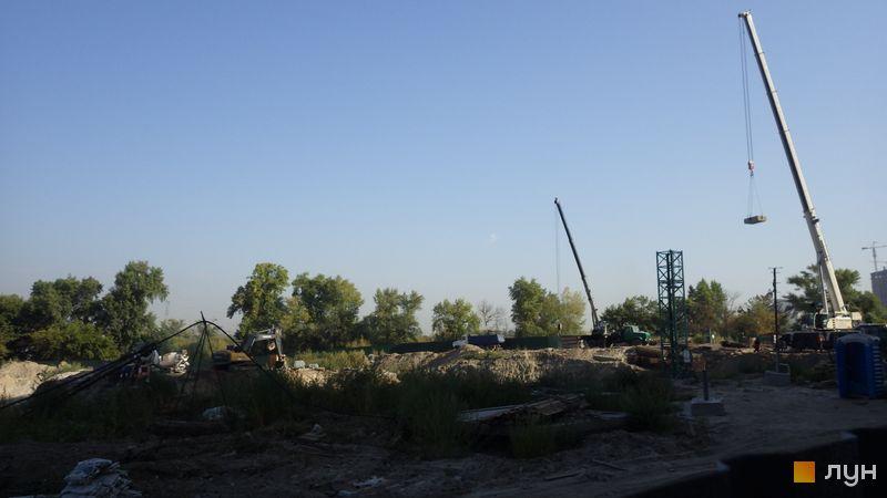 Ход строительства ЖК Заречный, , сентябрь 2019
