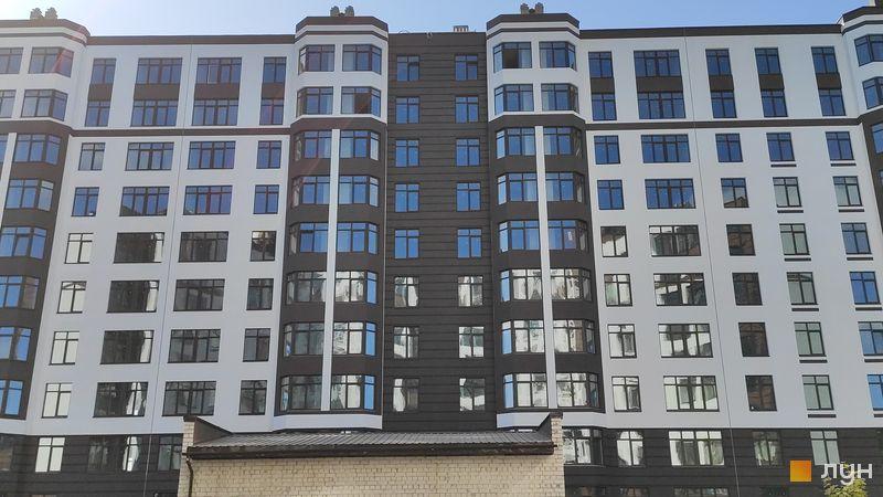 Ход строительства ЖК Пражский квартал 2, 2 дом (секция 2), сентябрь 2019