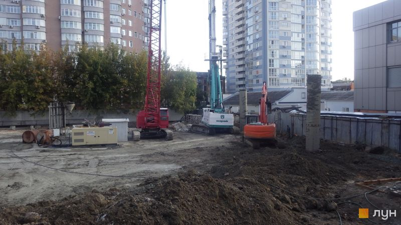 Хід будівництва ЖК А136 Highlight Tower, , вересень 2019