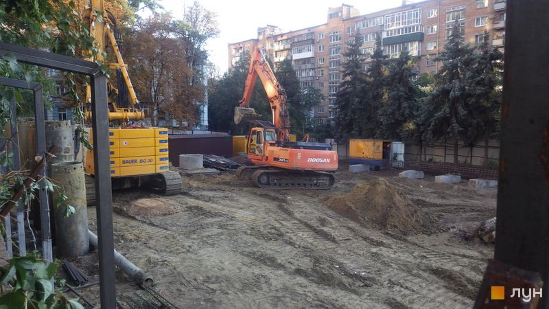 Хід будівництва ЖК Washington Concept House, , вересень 2019