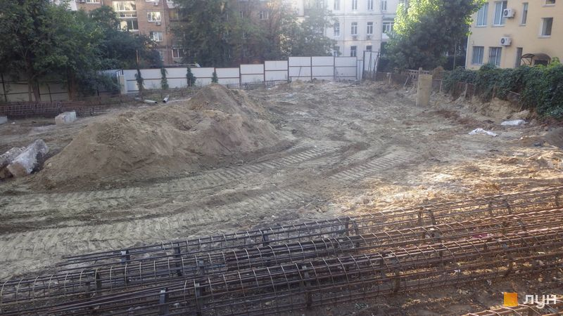Ход строительства ЖК Washington Concept House, , сентябрь 2019