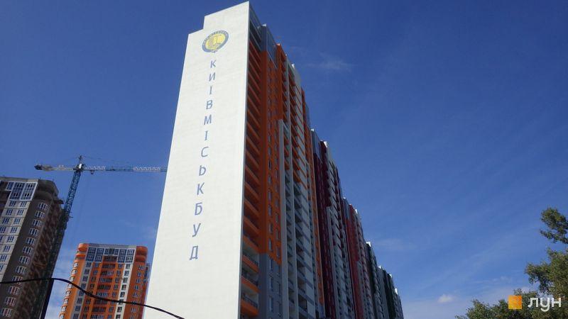 Хід будівництва ЖК Каховська, 5 будинок, вересень 2019