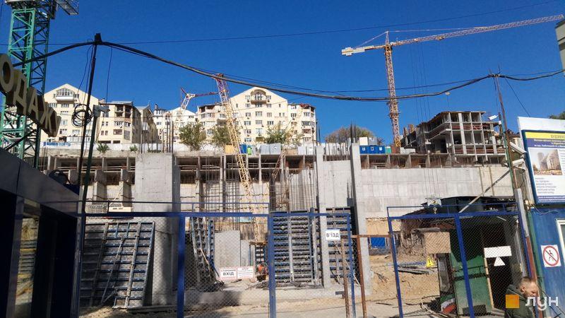 Ход строительства ЖК Mirax, 6, 7 дома, сентябрь 2019