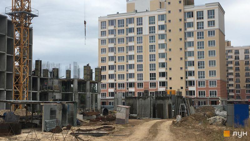 Ход строительства ЖК Новые Теремки, 4 очередь (дом 12), сентябрь 2019