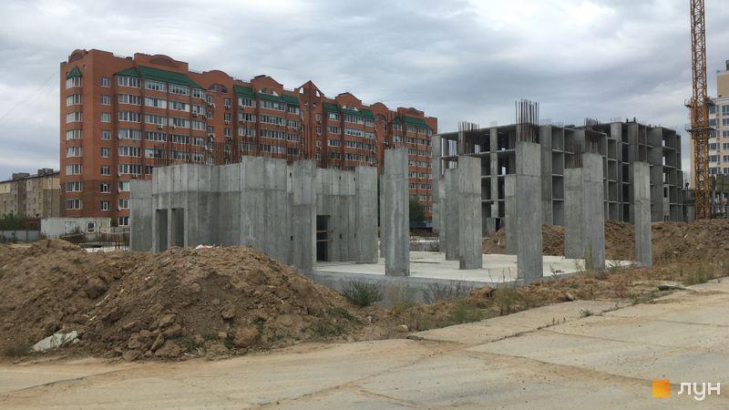 Ход строительства ЖК Новые Теремки, 4 очередь (дома 17-18), сентябрь 2019