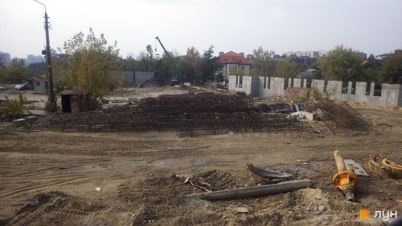 Хід будівництва ЖК Новопечерські Липки, , вересень 2019