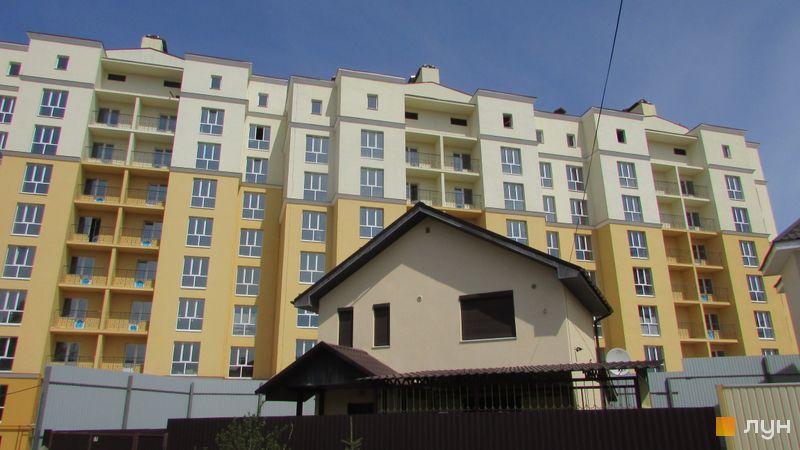 Ход строительства ЖК Чайка, ул. Лобановского, 26, корпус 3, апрель 2016