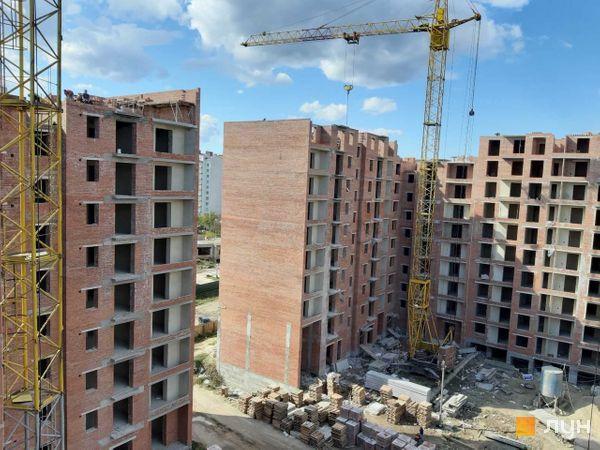 Ход строительства ЖК Квартал Галицкий, , октябрь 2019