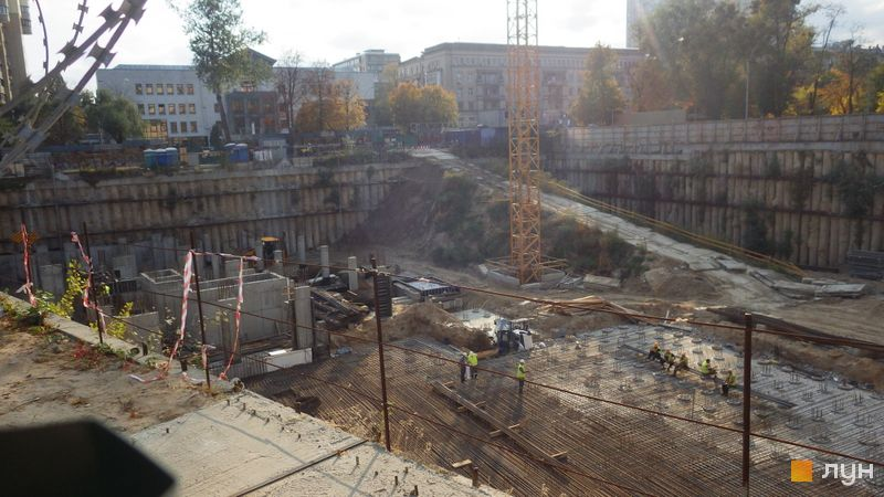Ход строительства ЖК Crystal Park Tower, , октябрь 2019