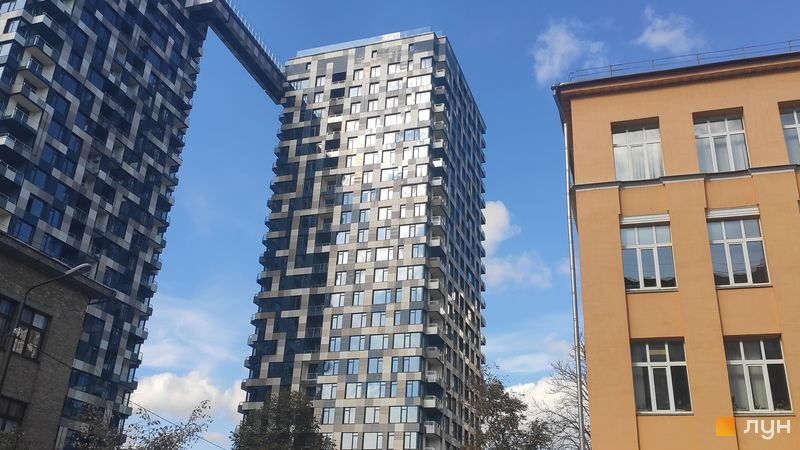 Хід будівництва ЖК Tetris Hall, 2 будинок (секція Б), жовтень 2019