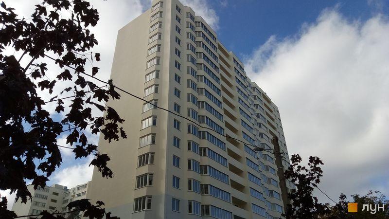 Ход строительства ЖК Вернисаж, 4 дом (секции 4, 5), октябрь 2019