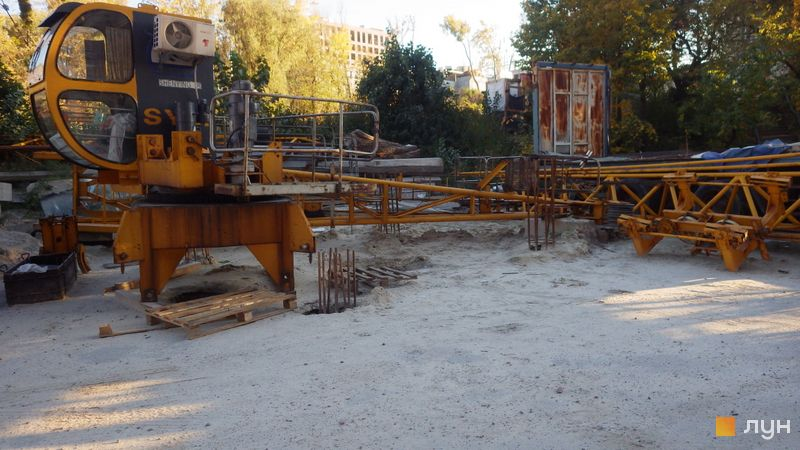 Хід будівництва ЖК Голосіївська Долина, , жовтень 2019