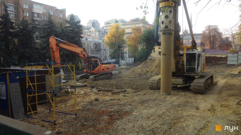 Ход строительства ЖК Washington Concept House, , октябрь 2019