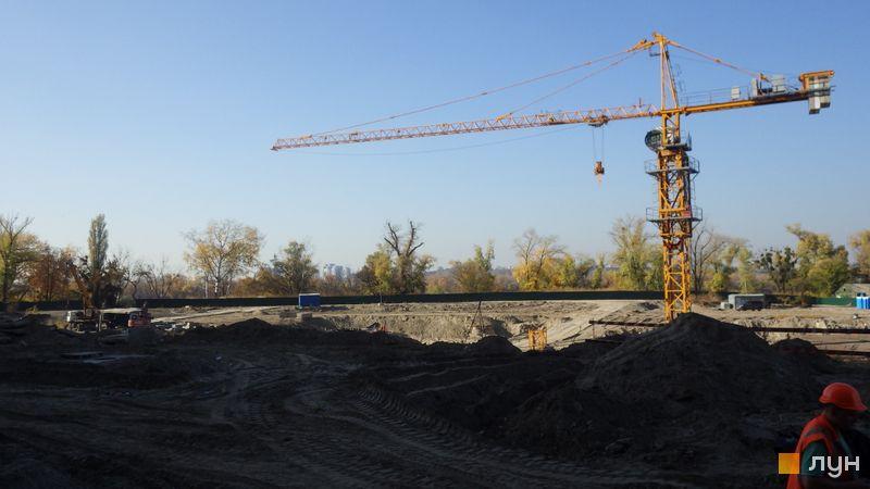 Ход строительства ЖК Заречный, , октябрь 2019