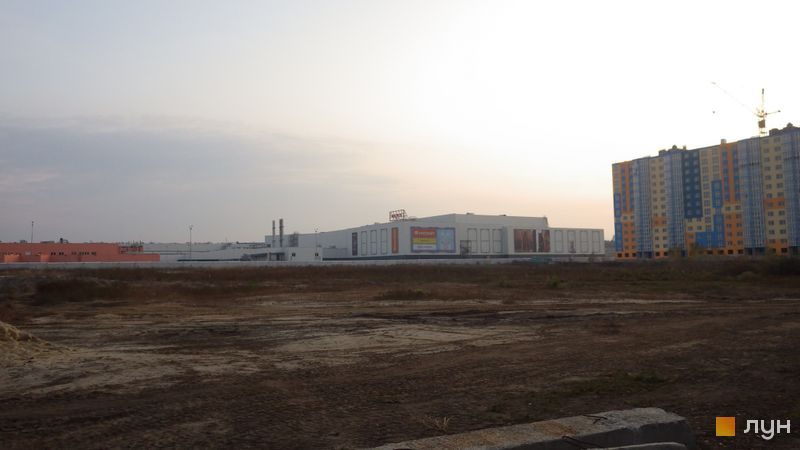 Ход строительства ЖК LUCKY LAND, , октябрь 2019