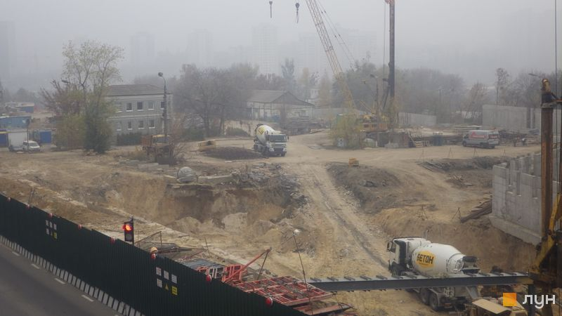 Хід будівництва ЖК Новопечерські Липки, , жовтень 2019