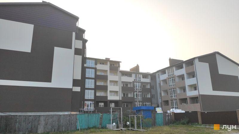 Хід будівництва ЖК Супутник-Теремки, 3 будинок (пер. Інститутський), жовтень 2019