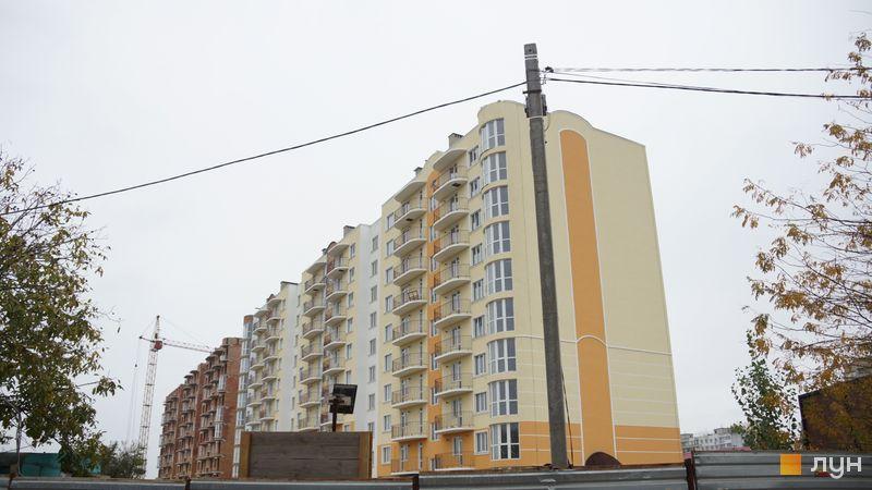 Ход строительства ЖК Теплый дом, 1 дом, октябрь 2019