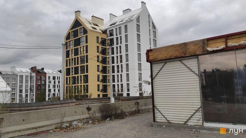 Ход строительства ЖК Белый Шоколад.Center, 10 очередь (ул. Величко, 25), октябрь 2019