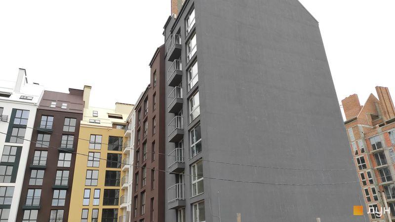Ход строительства ЖК Белый Шоколад.Center, 10 очередь (ул. Величко, 22, 24а, 24б), октябрь 2019