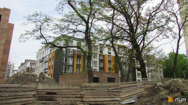Ход строительства ЖК Фортуна-2, ул. Джерельная, 8, май 2016