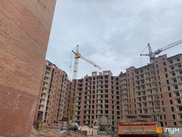 Ход строительства ЖК Квартал Галицкий, , ноябрь 2019